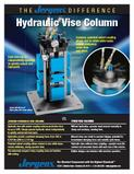 Jergens hydraulic vise columns, workholding solutions