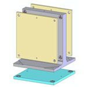 Picture for category Subplates for Hydraulic Vise Tooling Columns - Met